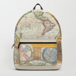 A General Map of the World - Laurie 1794 Backpack