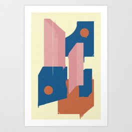 Esso Art Print
