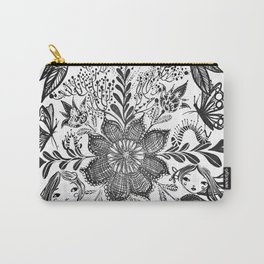 Me and you, day and night in our messy garden Carry-All Pouch