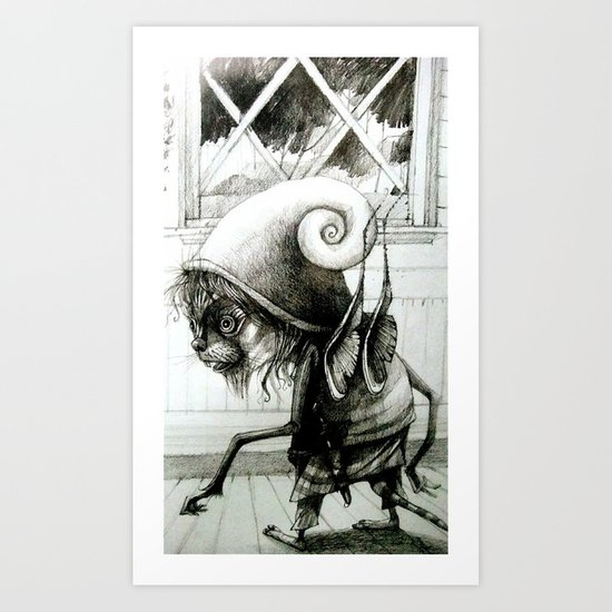 brownie Art Print