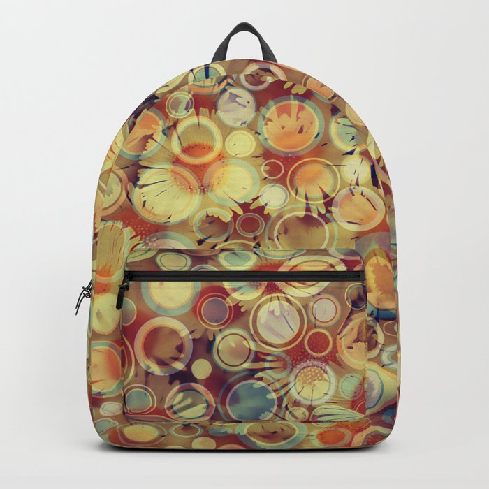 Dots on Flowers Backpack