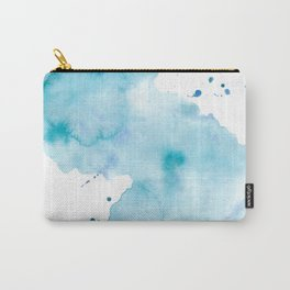 Creative watercolor wash. Watercolor texture Carry-All Pouch