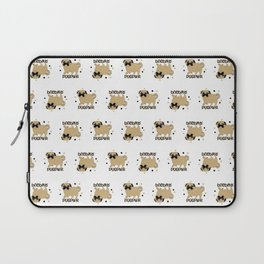 Pugs and kisses pug pwr Laptop Sleeve