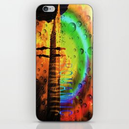 Romantic Sunset Reflections and Rainbow iPhone Skin