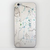 fairy tale iPhone & iPod Skins featuring Fairy Tale by KSKS