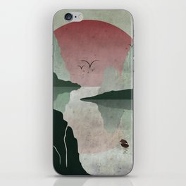 Two Of Seven iPhone Skin