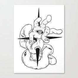 handeye Canvas Print