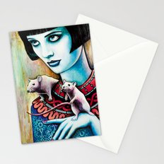 Diana and the Rats Stationery Cards