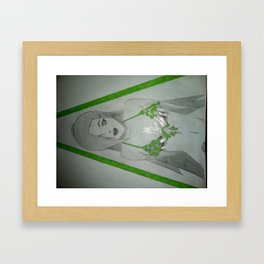 Ino Beach Body Framed Art Print