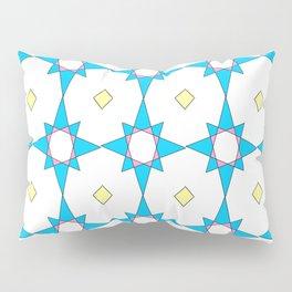symetric patterns 37 -mandala,geometric,rosace,harmony,star,symmetry Pillow Sham