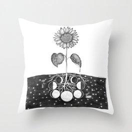 Prāṇa (Life Force) Throw Pillow