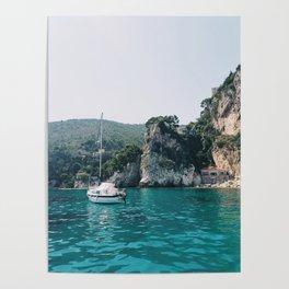 Mediterranean Beach Poster