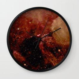 Nebula and Stars Wall Clock