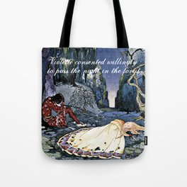 French Fairy Tales ~ Violette ~ Bookish Decor Tote Bag