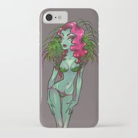 poison ivy iPhone & iPod Cases featuring Poison Ivy by Polina  Chernevina