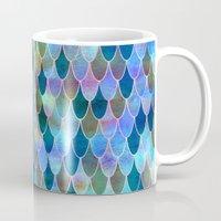 mermaid Mugs featuring Mermaid by Schatzi Brown