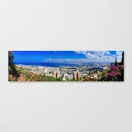 Haifa Panorama Canvas Print