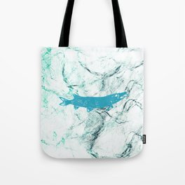 pike in the net Tote Bag