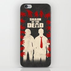 Shaun Of The Dead iPhone & iPod Skin