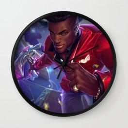 Heartseeker Lucian League of Legends Wall Clock