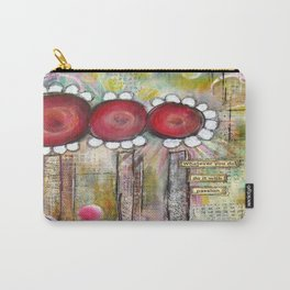 Mixed Media Collage 2 Carry-All Pouch