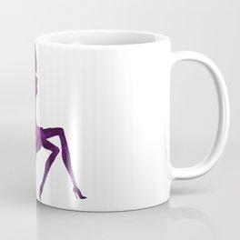 DIVA ON shoe - PAINTED - Gorgeous VIOLET Coffee Mug
