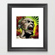 Listen to the Madness Framed Art Print