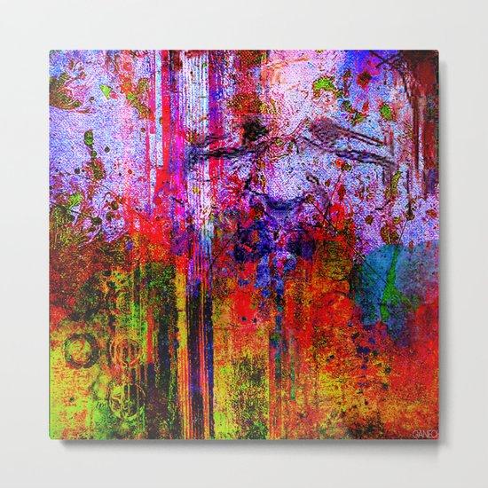portrait abstrait Metal Print