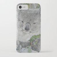 koala iPhone & iPod Cases featuring Koala by Cordula Kerlikowski