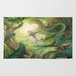 Saint George and the Dragon Rug