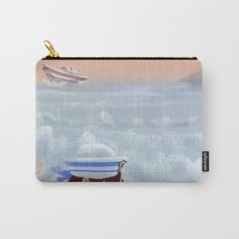 Boy On The Beach Carry-All Pouch