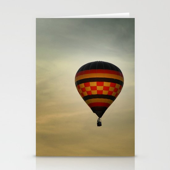 Floating into the Sunset Stationery Cards
