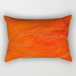 Glazed Terracotta Rectangular Pillow