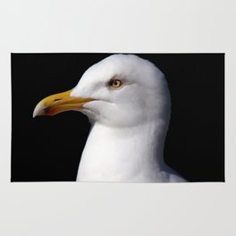 Standing Seagull Rug