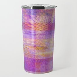 Marbled Patchwork Travel Mug