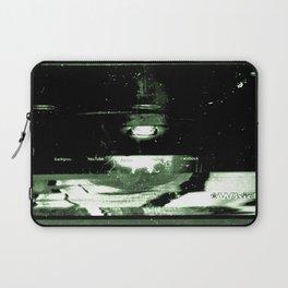 Digital Dissonance Green Laptop Sleeve