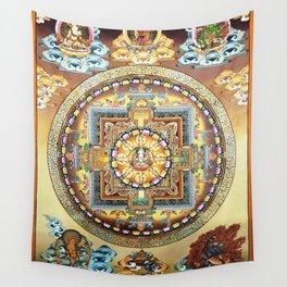 Hindu Buddhist Mandala 20 Wall Tapestry