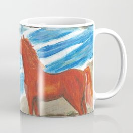 The Red Stallion Coffee Mug