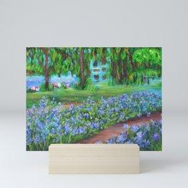 Monet's Garden AC20110715a Mini Art Print