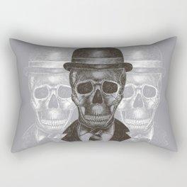 Worked To Death (Grey version) Rectangular Pillow