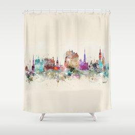 edinburgh scotland Shower Curtain