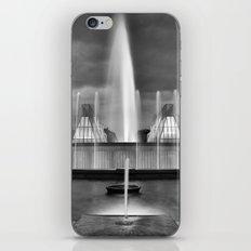 Old fountain. iPhone & iPod Skin