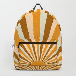 Golden Sun Rising Backpack
