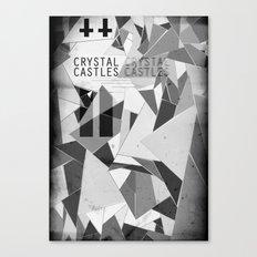 Crystal Castles Canvas Print