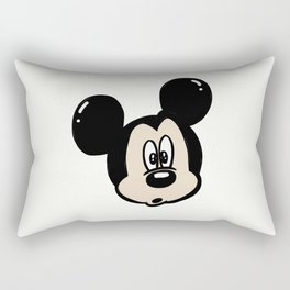 Funny Mickey Mouse Rectangular Pillow