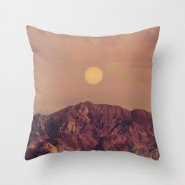 Angeles Sun Throw Pillow