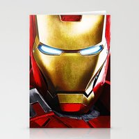 iron man Stationery Cards featuring IRON MAN IRON MAN by Smart Friend