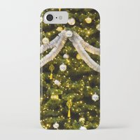 christmas tree iPhone & iPod Cases featuring Christmas Tree by Pati Designs