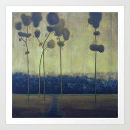 tree study ten Art Print