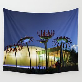 Seattle Glass Flowers - Chihuly Garden Wall Tapestry